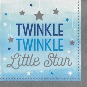 Servetter 16p twinkle little star blue