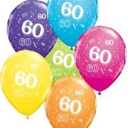 Ballonger 27,5cm 6p assorted colors 60 32kr