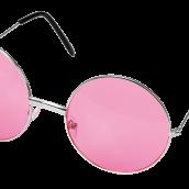 Glasögon runda rosa 49kr