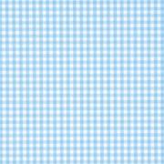 Servetter 20p Rutiga ljusblå