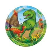 Pappersassietter 18cm 8p Dinosaurie 37kr