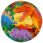 Papperstallrikar 8p Dinosaurie