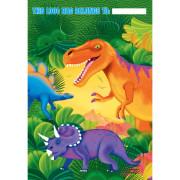 Kalaspåsar 8p Dinosaurie