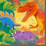 Servetter 16p Dinosaurie
