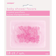 Nappar 18p transparent rosa