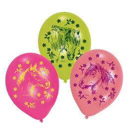 Ballonger 6p Hästar - Ballonger 6p Hästar
