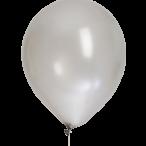 Ballonger 30cm 8p silvermetallic 30kr