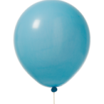 Ballonger 30cm 10p ljusblå 30kr