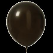 Ballonger 30cm 10p svarta