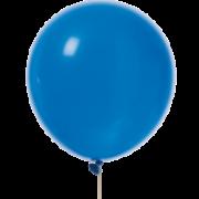 Ballonger 30cm 10p royalblå