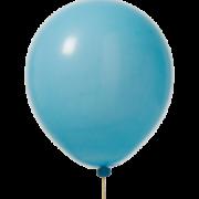 Ballonger 30cm 10p ljusblå