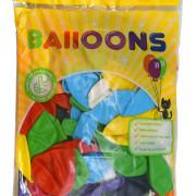 Ballonger 30cm 100p mixade färger