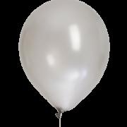 Ballonger 30cm 8p Silvermetallic
