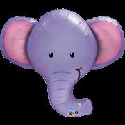 Folieballong Supershape Elefanthuvud