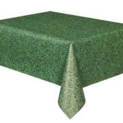 Duk av plast gräs