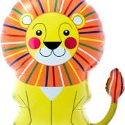 Folieballong Supershape Sittande lejon