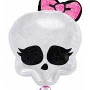 Folieballong 50x40cm Monster high