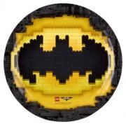 Papperstallrikar 8p Lego Batman