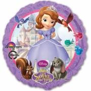 Folieballong 43cm Prinsessan Sofia