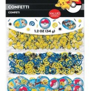 Konfetti 3-sort Pokemon 34g