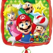 Folieballong 43cm Super Mario