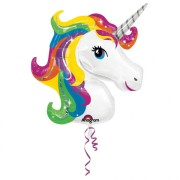 Folieballong Supershape Unicorn
