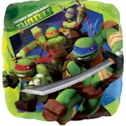 Folieballong 43cm Turtles