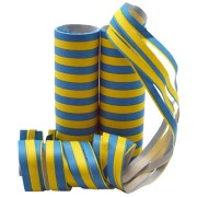 Serpentiner gul/blå 2p