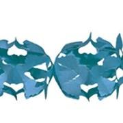 Girlang 6m blå