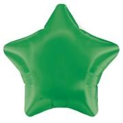 Folieballong 48cm Stjärna grön