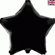 Folieballong 48cm Stjärna svart