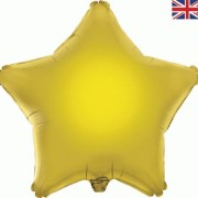 Folieballong 48cm Stjärna guld