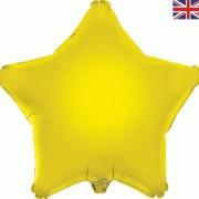 Folieballong 48cm Stjärna gul