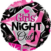 Folieballong 45cm girls night out