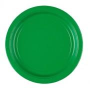 Papperstallrikar 22,8cm 8p festive green
