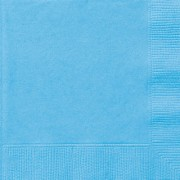 Servetter 2-lags 20p powder blue