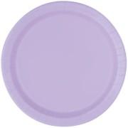 Papperstallrikar 22,9 cm 8p lavender