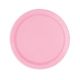 Papperstallrikar 17,1cm 20p lovely pink -