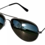 Glasögon pilot spegelglas
