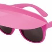 Glasögon med skärm rosa