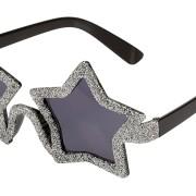 Glasögon silver stjärnor