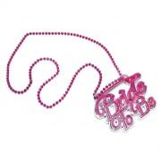 Halsband rosa