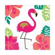 Servetter 16p Flamingo