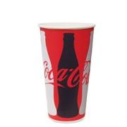Pappersmuggar 0,4L Coca Cola 50p