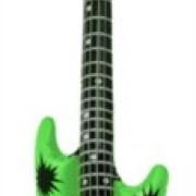 Uppblåsbar gitarr grön 106cm