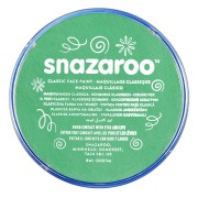 Snazaroo ansiktsfärg 18ml Classic bright green