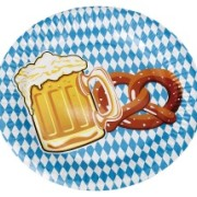 Papperstallrikar 22,5cm 10p Oktoberfest