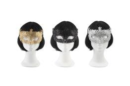 Ansiktsmask glitter (finns flera färger) - Ansiktsmask glitter silver