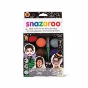 Ansiktsfärg-set 11 delar Snazaroo halloween