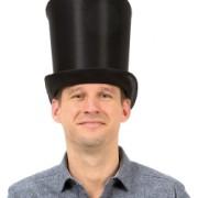 Hög top hatt
